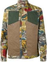 Antonio Marras landscape print shirt