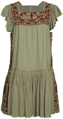 Free People Day Glow Mini Dress