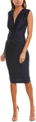 Issue New York Draped Midi Dress