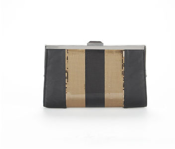 Rachel Roy Deco Disco Frame Clutch