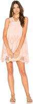 Nightcap Clothing Pixie Mini Dress in Blush. - size 1 (also in )