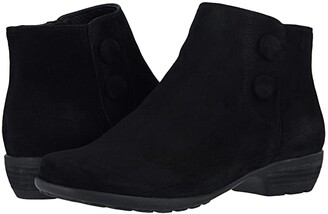 Walking Cradles Evan (Black Suede) Women's Boots