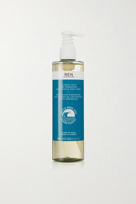 Ren Skincare Atlantic Kelp And Magnesium Anti-fatigue Body Wash, 300 Ml