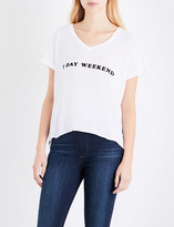 Wildfox Couture 7 Day Weekend cotton-jersey T-shirt