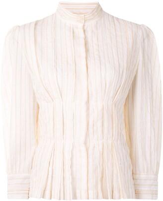 Karen Walker Gardenesque pleated blouse