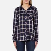 Rails Women's Hunter Shirt Nightfall/White
