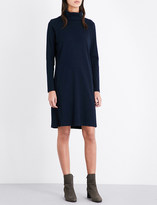 The White Company Roll-neck cotton-jersey dress