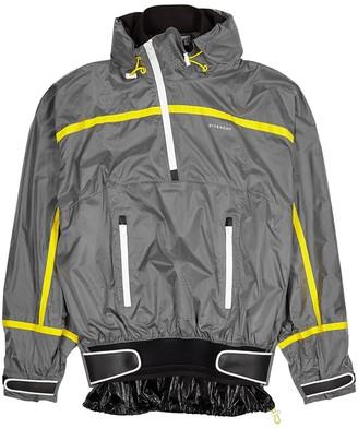 Givenchy Grey Panelled Shell Jacket