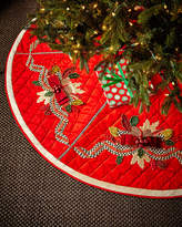 Mackenzie Childs MacKenzie-Childs Tartan Frost Tree Skirt