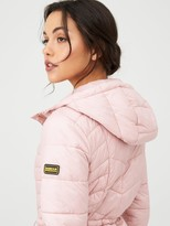 Barbour International Ace Quilted Jacket - Pink