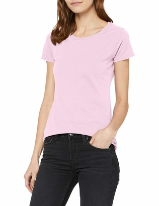 Fruit of the Loom NEW Lady Fit Valueweight T-ShirtLight Pink S