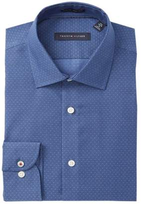 Tommy Hilfiger Patterned Slim Fit Dress Shirt