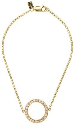 Georgina Jewelry Gold Infinity Diamond Bracelet