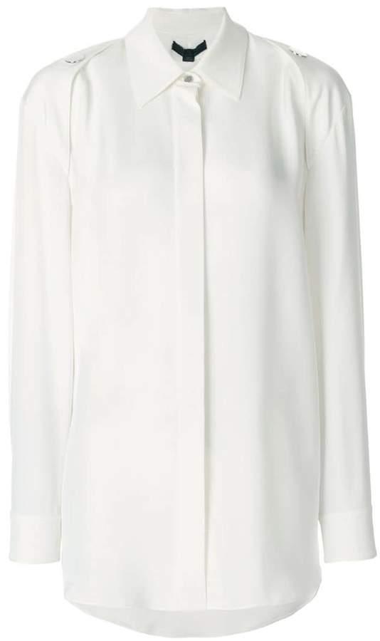 Alexander Wang shoulder button detail shirt