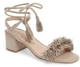Sole Society Women's Sera Wraparound Fringe Sandal