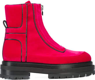 Pierre Hardy machina metallic ankle boots