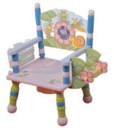 The Well Appointed House Teamson Design Hand Painted Girl's Potty Training Chair