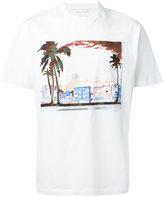 Prada landscape print T-shirt