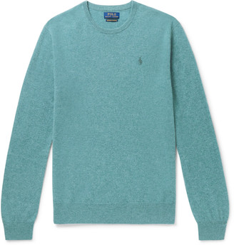 Polo Ralph Lauren Slim-Fit Melange Cashmere Sweater