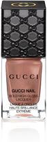 Gucci Burnt cinnamon, Bold High-Gloss Lacquer