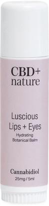 Cbd + Nature 0.16 oz. Luscious Lips + Eyes Botanical Balm