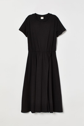 H&M Jersey Dress - Black