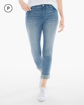 Chico's French Terry Crop Jeans