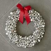 Williams-Sonoma Williams Sonoma Silver Jingle Bell Wreath