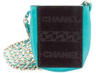 Chanel Ponyhair Cigarette Crossbody Bag