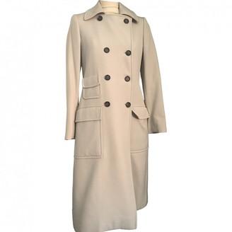 Gucci Beige Wool Coat for Women