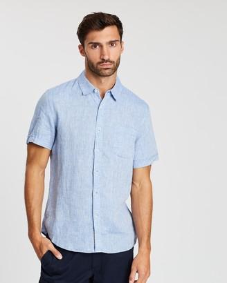Sportscraft Short Sleeve Linen Shirt