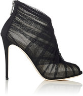 Dolce & Gabbana Women's Tulle Ankle Booties