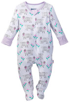 Beanstalx Eric Carle Sheep Zipsuit Footie (Baby Girls)