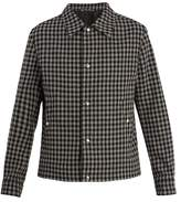 Ami Gingham wool jacket
