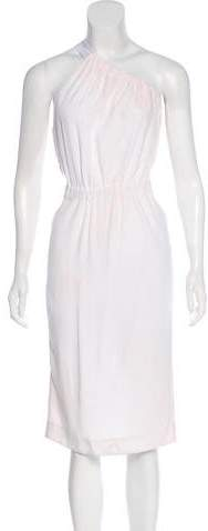 Cushnie et Ochs One-Shoulder Midi Dress