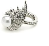 Oscar de la Renta Fanned Pearl Ring