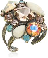 Sorrelli Contemporary Cluster Ring, Size 7-9
