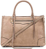 Rebecca Minkoff Regan Satchel Tote in Tan.