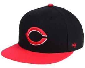 '47 Boys' Cincinnati Reds Basic Snapback Cap