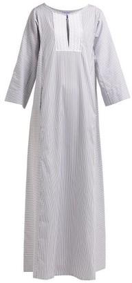 Thierry Colson Talitha Striped Kaftan - Womens - Grey Stripe