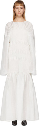 Totême White Coripe Dress