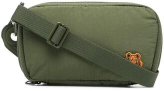Kenzo Logo-Patch Shoulder Bag