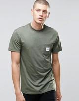 Huf T-shirt With Box Logo Pocket