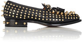 Gucci Men's Studded Square-Toe Loafers