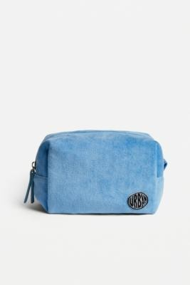 Urban Outfitters Towelling Makeup Bag - Blue ALL at