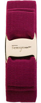 Salvatore Ferragamo brand plated hairband - women - Cotton/Brass - One Size