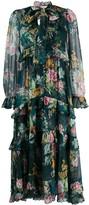 Zimmermann Dephene floral-print chiffon dress