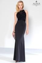 Alyce Paris Black Label - 5816 Long Dress In Black