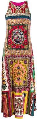 Etro Bohemian-Print Sleeveless Dress