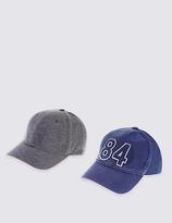 Marks and Spencer Kids' 2 Pack Baseball Hats